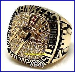 2001 New York Yankees American League Al Champions Championship Ring Player 14k