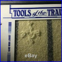 2005 Absolute Tools of The Trade Babe Ruth 1925 Jersey Button Stitches Patch