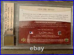 2005 BGS 9.5 10 Artifacts Autofacts Derek Jeter Auto Autograph PSA Yankees HOF