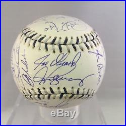 2008 NY Yankees Team Signed All Star Baseball Derek Jeter Rivera Steiner COA