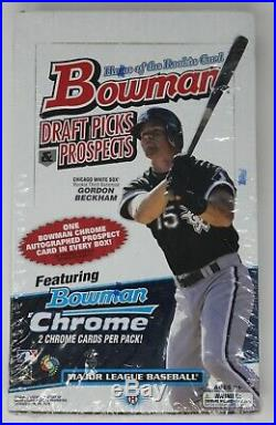 2009 Bowman Draft Picks & Prospects Box Factory Sealed Mike Trout 1st
