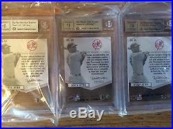 2009 Sp Ud Authentic By The Letter Signatures Derek Jeter Complete Name Autos 10