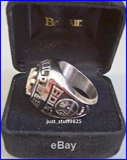 2009 Yankees World Series Championship Employee Ring By Balfour Super RARE WoW