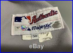 2010 New York Yankees Game Used Worn Issued Jersey #26 Steiner MLB