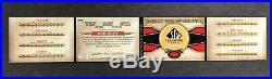 2011 SP Legendary Cuts 1927 Murderer's Row Babe Ruth Lou Gehrig 8x Cut AUTO 1/1
