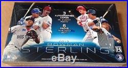 2013 Bowman Sterling HOBBY BOX 18 Auto (Aaron Judge Kris Bryant Refractor 1/1)