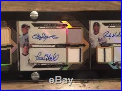 2016 Topps Triple Threads Deca Auto/Relic/Patch NYY New York Yankees /10 Jackson