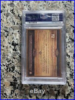 2017 Topps Transcendent Babe Ruth Cut Auto 1/1 PSA 10 -Only Ruth 10 Exists -PMJS
