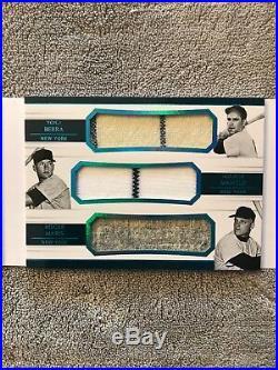 2018 National Treasure Legendary Lineups Yankees 1/5 Ruth Gehrig Mantle Maris