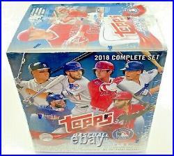 2018 Topps Baseball Card Retail Blue Factory Set Possible Ohtani Chrome Variant