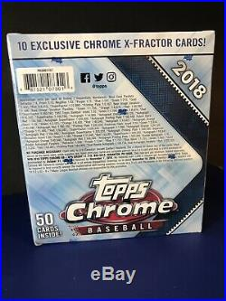 2018 Topps Chrome Monster Box Factory Sealed RC Ohtani, Acuna