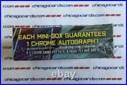 2019 Bowman Chrome Hobby MINI-Box 1 Auto (Fernando Tatis Pete Alonso RC Rookie)