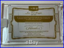 2019 Flawless Collection Joe Dimaggio Game Used Bat Relic Cut Auto #1/5! Yankees