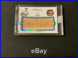 2019 Panini Flawless #1/1 Babe Ruth Cut Autograph and Game-Used Relic One of One