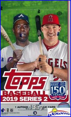 2019 Topps Series 2 Baseball Factory Sealed 12 Box HOBBY CASE-12 AUTOGRAPH/GU