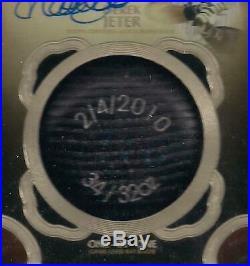 2019 Topps Tier One Derek Jeter ONE OF ONE Autograph Bat Knob! Yankees 1/1 AUTO