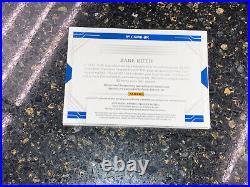 2020 Panini National Treasures Babe Ruth Cut Auto Bat 1/1 Book Yankees Wow Gem