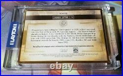 2020 Topps Transcendent Derek Jeter Emerald Collection Autographs 4/15 AUTO