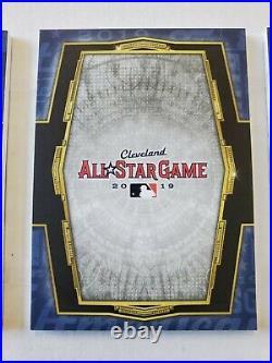 2020 Triple Threads Francisco Lindor All Star Game Jumbo Patch Logoman Book 1/1