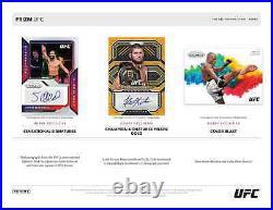 2021 Panini Ufc Prizm Hobby Box Brand New Sealed Free Priority Shipping