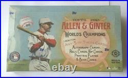 2021 Topps Allen & Ginter Baseball Hobby Box