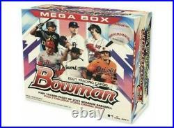 2021 Topps MLB Bowman Baseball Mega Box Factory Sealed LOT OF 6 QUICK SHIPPING
