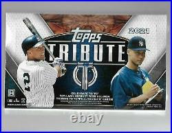 2021 Topps Tribute Baseball Factory Sealed Hobby Box