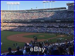 2 Tickets Los Angeles Dodgers v. New York Yankees Saturday 8/24 Loge 151 Shade