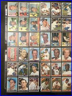 (425) Vintage 1950s 1960s Card Collection Lot Binder Mantle Koufax Mays Clemente