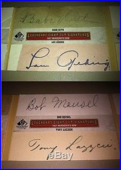 7 Million Sports Card Collection Vintage 1900's-Now Mantle Ruth Gehrig Auto 1/1