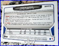 AARON JUDGE 2013 Bowman CHROME Baseball Rookie Card RC New York Yankees $$ HOT