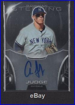AARON JUDGE 2013 Bowman Sterling Prospects Autograph Auto BSAP-AJ Rookie Card RC