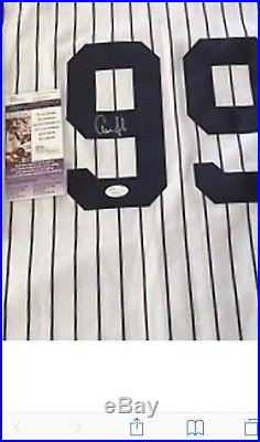 Aaron Judge Autographed Jersey Jsa Ny Yankees