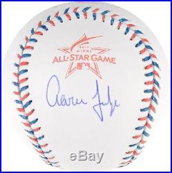 Aaron Judge New York Yankees Autographed 2017 All Star Game Baseball Fanatics