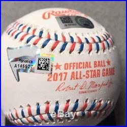 Aaron Judge signed 2017 All-Star Game Autographed MLB baseball Yankees FANATICS