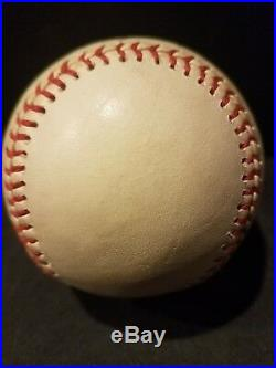 Amazing Babe Ruth Single Signed Autographed Baseball With JSA LOA Huge Blue Auto