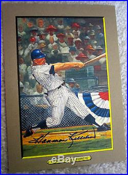 Autographed Perez Steele Great Moments Set Series 1-9 Mickey Mantle Koufax