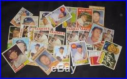 Awesome Cigar Box Find (24) 1952-1969 Mickey Mantle Baseball Cards High End