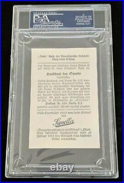 BABE RUTH 1932 Sanella Margarine Type 3 At Bottom with83 PSA 6 Yankees RARE SGC