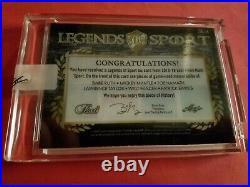 BABE RUTH BAT CARD MICKEY MANTLE Joe Namath LT Frazier Ewing JERSEY LEAF #6/6 NY