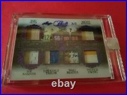 BABE RUTH BAT CARD MICKEY MANTLE Joe Namath Walt Frazier LAUNDRY TAG JERSEY LEAF