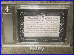 BABE RUTH LEAF Executive Signed Cut Autograph Yankees PSA/DNA Authentic MINT 9