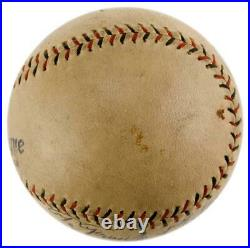 BABE RUTH YANKEES Single Signed/Autographed Sweet Spot Baseball PSA/DNA 152584