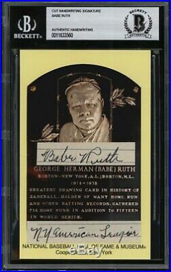 Babe Ruth Authentic/Signed Handwriting! Sportscards Factory Sealed Box! RARE