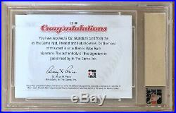 Babe Ruth Autograph 2014 In The Game New York Yankees Signed Cut Auto #d 1/1