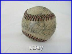 Babe Ruth Original Autograph Single Signed Baseball COMES WITH COA HiSTORICAL