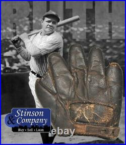 Babe Ruth Personally Owned 1910-20 Spalding Baseball Glove with COA Free Ship