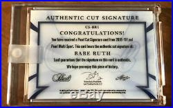 Babe Ruth Signature Autograph Auto 1/2 2018-19 Leaf Pearl New York Yankees GOAT