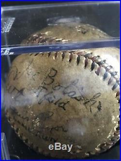 Babe Ruth Signed Baseball PSA/DNA