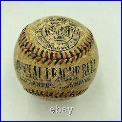 Babe Ruth Single Signed Autographed 1920's Baseball With JSA COA